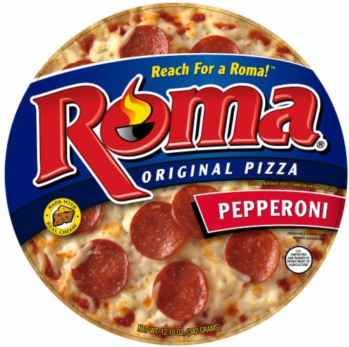 Roma Original Pepperoni Pizza Perspective: front