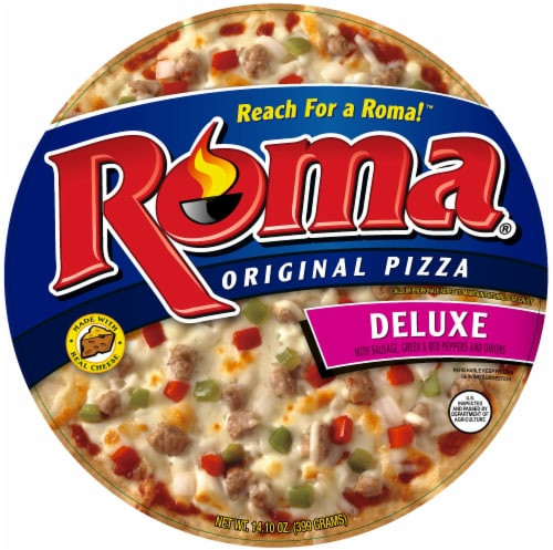 Roma Original Deluxe Pizza Perspective: front