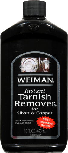 Weiman Instant Tarnish Remover for Silver & Copper Perspective: front