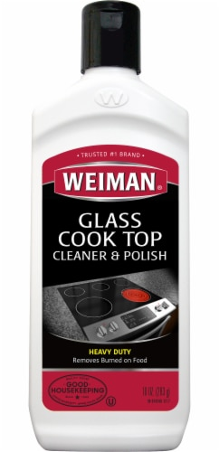 Weiman Glass Cook Top Cleaner & Polish Perspective: front