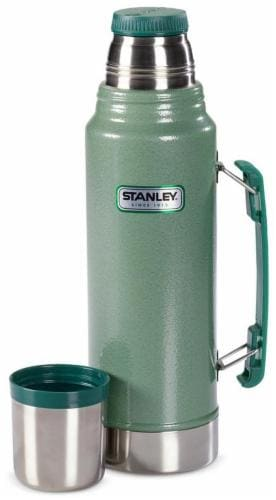 Fry's Food Stores - Stanley Classic Vacuum Insulated Bottle - Green