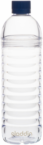 Aladdin 2-Way Lid Water Bottle - Clear Perspective: front
