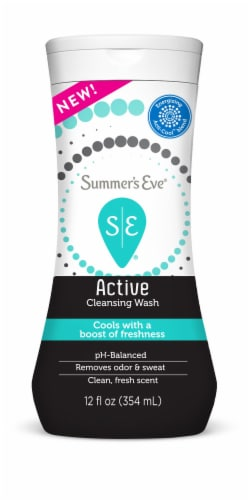 Summer's Eve Active Cleansing Wash Perspective: front