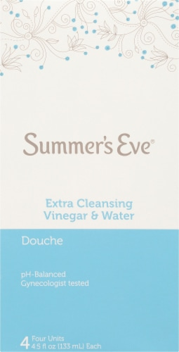 Summer's Eve Extra Cleansing Vinegar & Water Douches Perspective: front