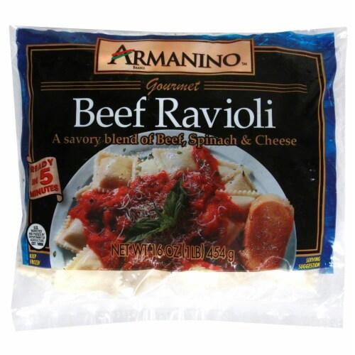 Armanino Meat Ravioli Perspective: front