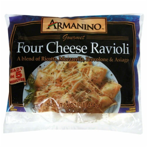 Armanino Cheese Ravioli Perspective: front
