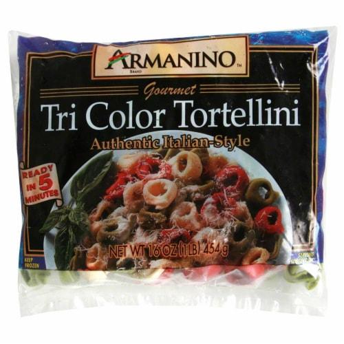 Armanino Tri Color Tortellini Perspective: front