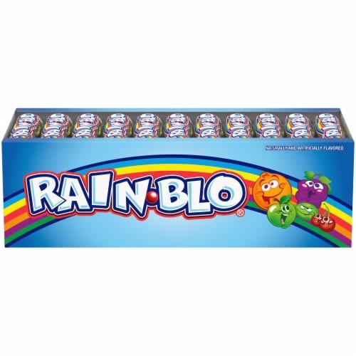 Rain-Blo Bubble Gum Balls Perspective: front