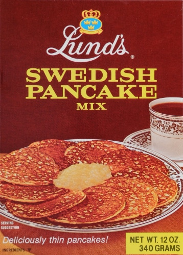 Lund's Swedish Pancake Mix Perspective: front