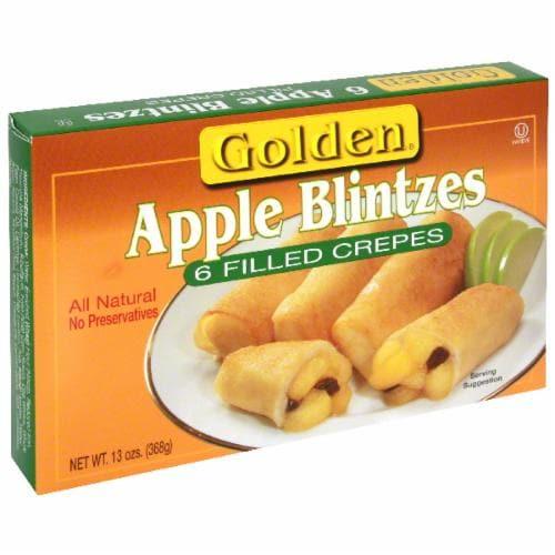 Golden Apple Blintzes Perspective: front