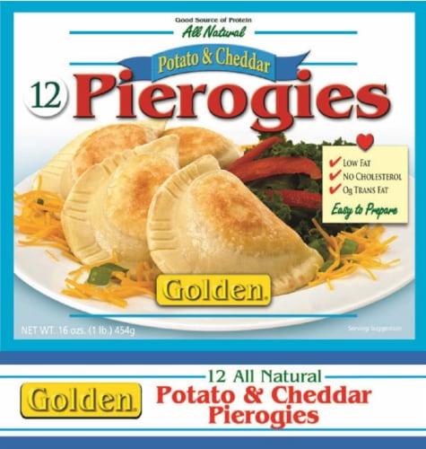 Golden Gourmet Potato & Cheese Pierogies Perspective: front