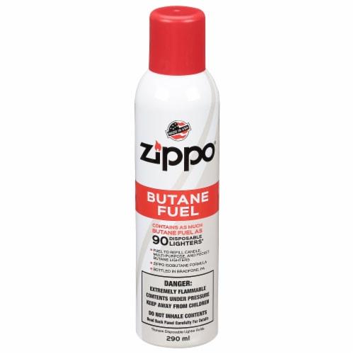 Zippo Butane Lighter Fluid Perspective: front