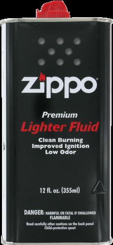 Zippo Lighter Fluid Perspective: front