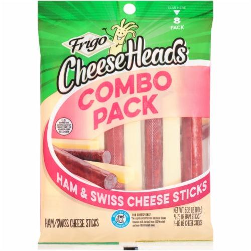 Frigo Ham & Swiss Cheese Sticks Combo Pack Perspective: front