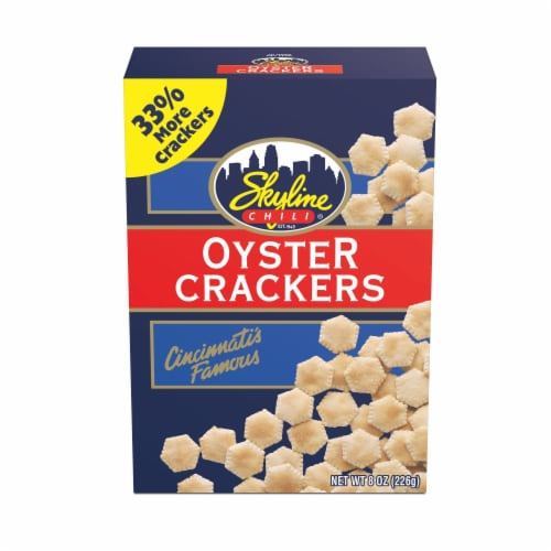 Skyline Chili Oyster Crackers Perspective: front