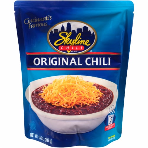 Skyline Original Chili Microwavable Pouch Perspective: front