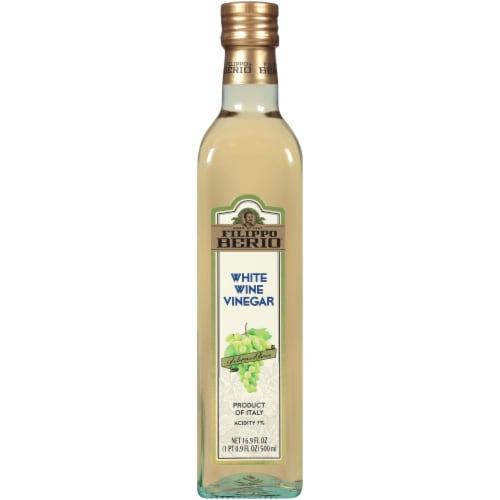 Filippo Berio White Wine Vinegar Perspective: front