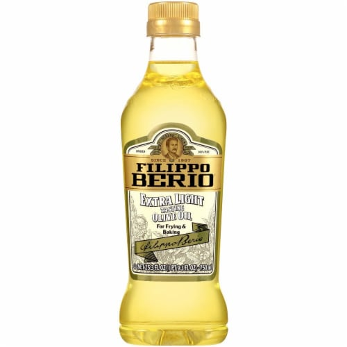 Filippo Berio Extra Light Olive Oil Perspective: front
