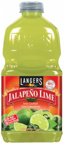 Langers Jalapeno Lime Juice Perspective: front