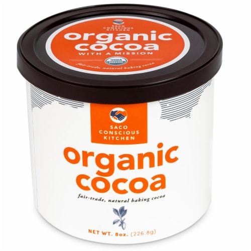 Saco Organic Baking Cocoa Perspective: front