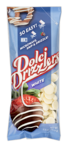 Dolci Drizzlers Creamy White Swirl Dip Perspective: front
