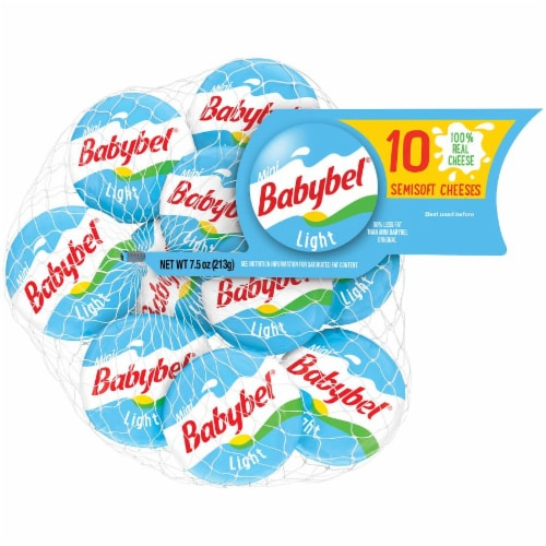 Mini Babybel Light Snack Cheese 10