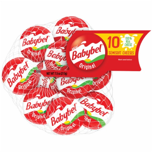 Mini Babybel Original Snack Cheese 10
