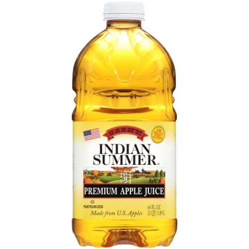 Indian Summer Premium Apple Juice Perspective: front