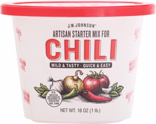 Johnson Chili Mild & Tasty Artisan Starter Mix Perspective: front