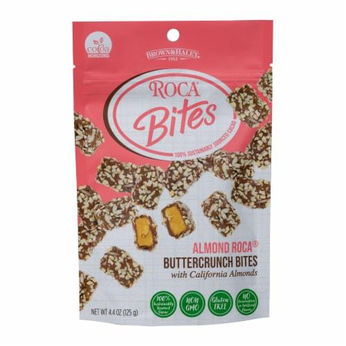 Brown & Haley Almond Roca Buttercrunch Bites Perspective: front