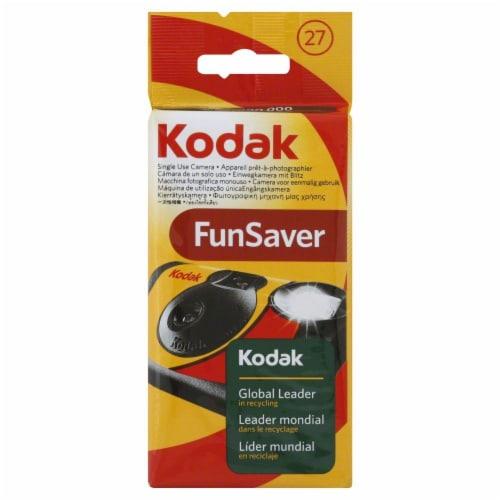 Kodak Fun Saver - Black Perspective: front