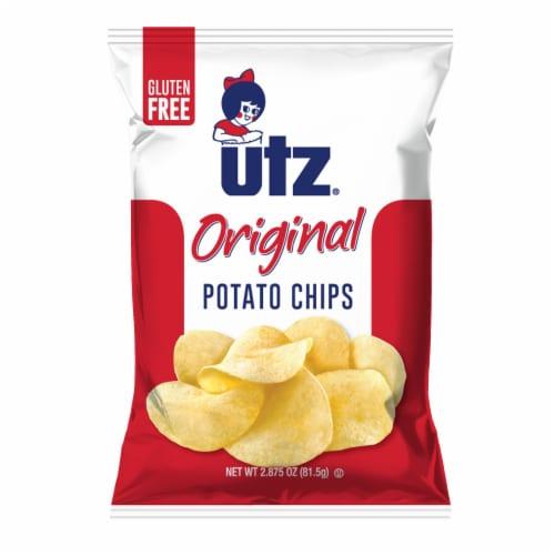Utz Original Gluten Free Potato Chips Perspective: front