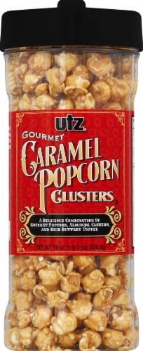 Utz Caramel Popcorn Clusters Perspective: front
