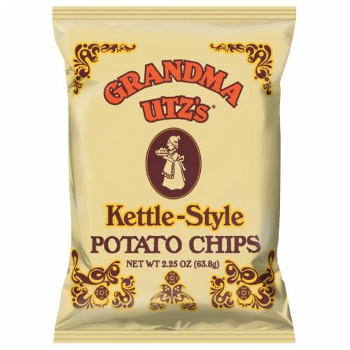 Grandma Utz's Handcooked Potato Chips Perspective: front