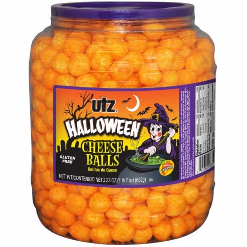 Utz Halloween Cheese Balls Perspective: front