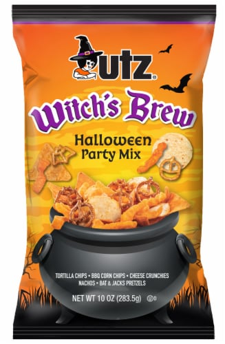 Utz Witch's Brew Halloween Party Mix Perspective: front
