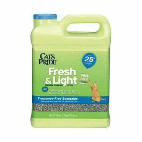 Cats Pride 47215 15 lbs. Fragrance Free Cat Litter Perspective: front