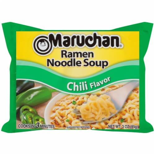 Maruchan Chili Ramen Noodle Soup Perspective: front