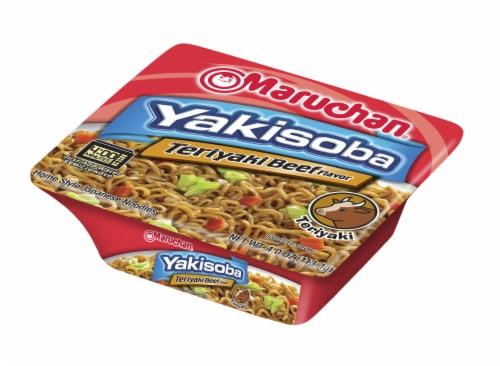Maruchan Yakisoba Teriyaki Beef Flavored Noodles Perspective: front