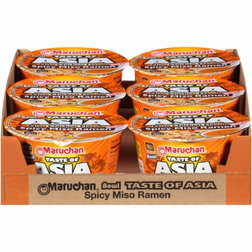 Maruchan® Taste of Asia™ Spicy Miso Ramen Bowl Perspective: front