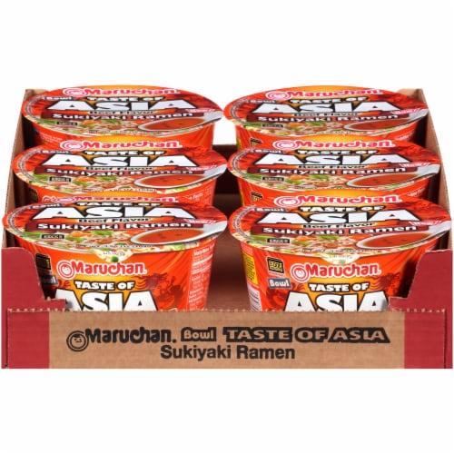 Maruchan Bowl Taste of Asia Sukiyaki Ramen Perspective: front
