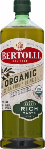 Bertolli Organic Rich Taste Extra Virgin Olive Oil Perspective: front
