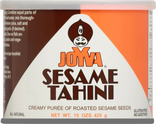 Joyva Sesame Tahini Perspective: front