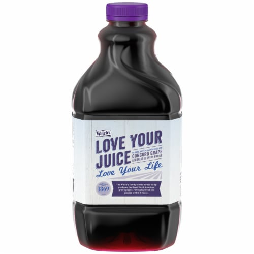 Welch's Light Concord Grape Juice Perspective: front
