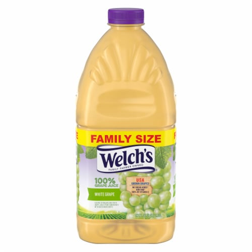 Welch's White Grape Juice Perspective: front