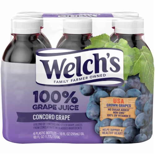 Welch's 100% Concord Grape Juice Perspective: front