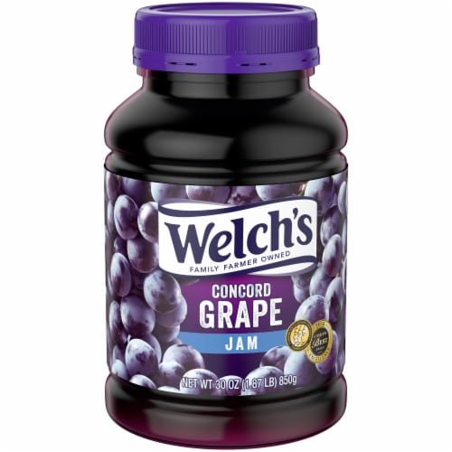 Welch's Concord Grape Jam Perspective: front