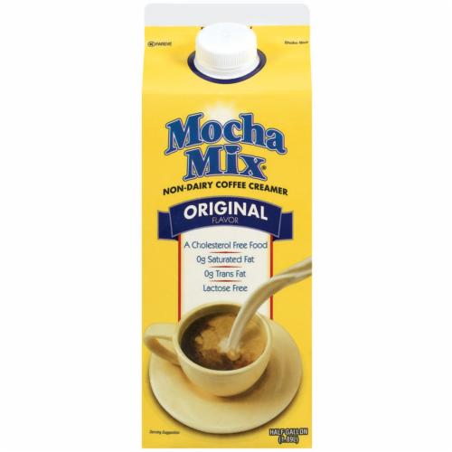 Mocha Mix Original Flavor Non Dairy Coffee Creamer Perspective: front