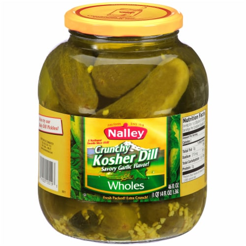 Nalley Crunchy Whole Dill Pickles Perspective: front