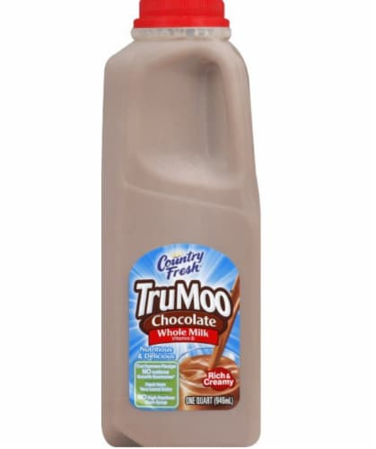 TruMoo Whole Chocolate Milk Perspective: front